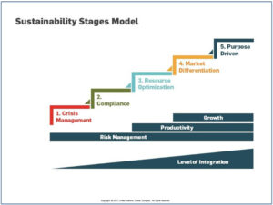 Sustainability Stages Model des Global Compact