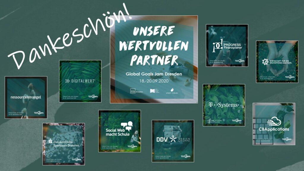 Partner des Global Goals Jam Dresden 2020