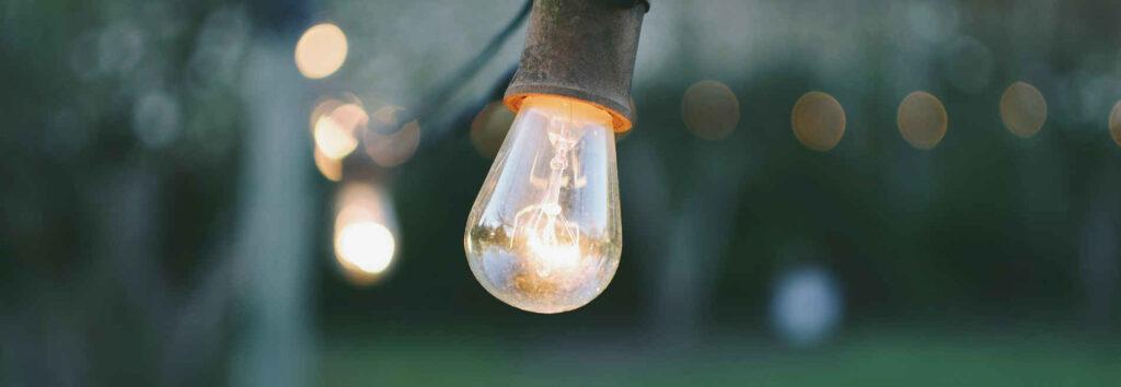 Lampe für FAQ Nachhaltigkeitsstrategie